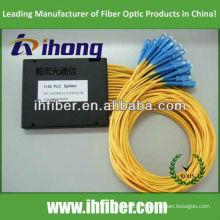 1 * 32 Fibre Optique PLC Splitter avec connecteurs SC / UPC Type de boîte ABS avec haute qualité