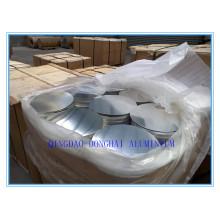 Aluminum circle disc piece
