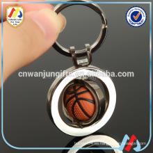 Deportes metal artesanías serie Llavero de baloncesto