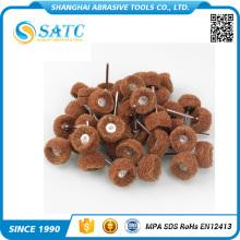 Top sale aluminum oxide non woven rotary flap disc