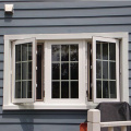 tempered glass aluminum windows and doors casement window with mosquito net