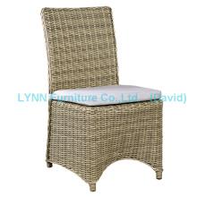 Mobília de vime Rodada cadeira de cadeira de rattan em cadeira de jantar