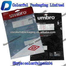Wholesales UMBRO shock packaging bag with euro hole