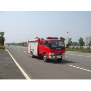 Dongfeng 2Ton aerial tower ladder fire truck