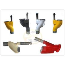 Putzmeister/Zoomlion/SANY/SERMAC/KYOKUTO concrete pump spare parts S valve
