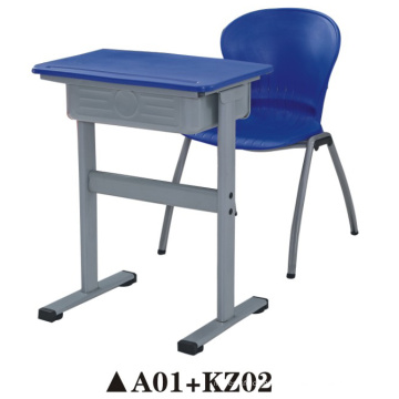 Одном классе стол и стул для мебель