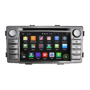 6.2inch Android System Car DVD Player for Hilux