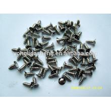 Varios productos de metal de tornillo de acero inoxidable
