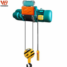 CD hook type electric wire rope hoist winches 1ton