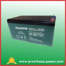 Хорошее качество гибридных электрических транспортных средств Аккумулятор 12V 14ah