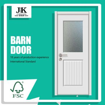JHK-Panel Tempered French Interior Glass Door