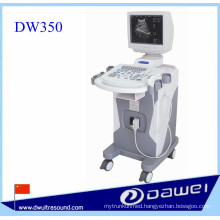 Trolley ultrasound machine for DW350 full digital medical ultrasound scan machine