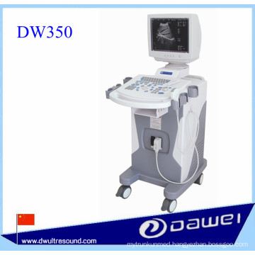 Trolley ultrasound machine for DW350 full digital medical ultrasound scan machine