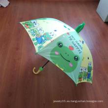 Paraguas de tela Pongee