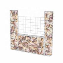 2x1x1m galvanized welded wire mesh gabion basket retaining wall