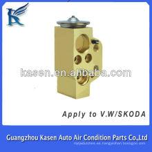 Válvula de expansión de bloque de válvula de aire acondicionado automático