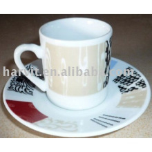 120CC ceramic wholesale tea cup and saucer
