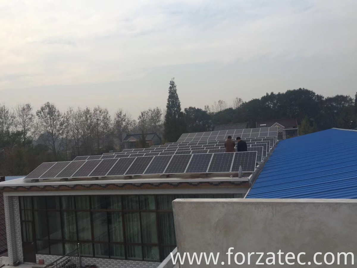 35KW Solar Power Station