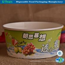 Чаша для мороженого хорошего качества с крышкой