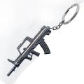 Personalized Keychains Metal Key chains Gun Shape