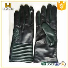 Men's Winter Gloves Leather sheepskin gloves made in China baoding