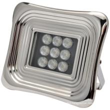 Soft LED solar flood light for square