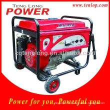 Rad Kit 6.5kw Tragbare LPG-Generator-Satz für Zuhause