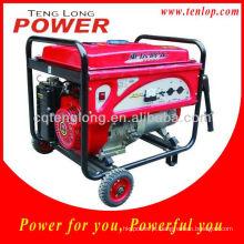 Jogo de gerador de LPG portátil roda Kit 6.5 kW para casa