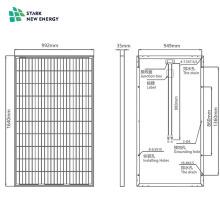 Panneaux solaires polycristallins 275W