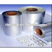 Cold formed aluminum foil pharmaceutical packing