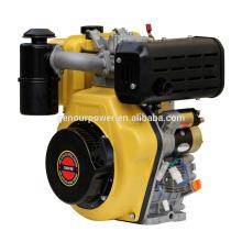 Soporte del motor diesel, motor diesel de 2 cilindros 4 tiempos para la venta