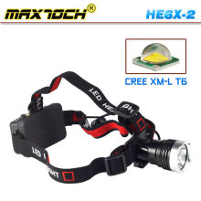 Maxtoch HE6X-2 350 Lumen XM-L T6 Hochleistungs-helle CREE LED Scheinwerfer
