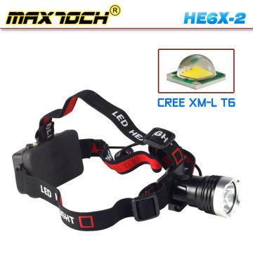 Maxtoch HE6X-2 350 Lumens XM-L T6 de alta potencia CREE brillante LED linterna