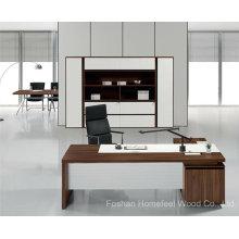 Escritório de alta qualidade Mobiliário de mesa executivo executivo de madeira (HF-TWB101)