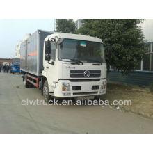 Alta seguridad Dongfeng Tianjin 4X2 camión explosivo en Ruanda