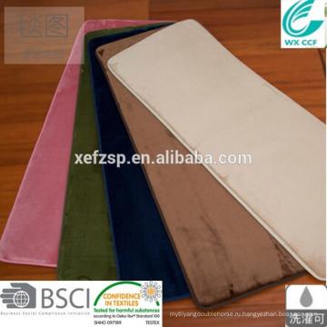 легк-чистка сауна магнитного пол коврик с длинным ворсом 100% полиэстер машинная стирка вход коврик