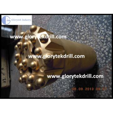T38 76mm Gewinde Rock Sphärische Taste Bit