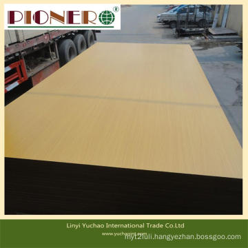 High Density Different Thickness Melamine MDF Board with Low Price