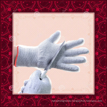 Food Grade HPPE String Knitted kitchen safety gloves cut resistant