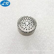 5 Axis cnc machining high precision stainless steel Micro Prepolarized Microphone parts