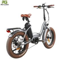 2020 Folding Fat Sand E Bike MID Drive Motor 48V