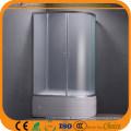 Gewebe-Glas-hohe Behälter 120 * 80cm Dusche-Einschließung (ADL-8050)