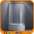 4mm Mat Glass High Tray Shower Cabins (ADL-8050L/R)