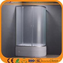 4мм мат стекло высокий поддон душевой кабины (АДЛ-8050L/Р)