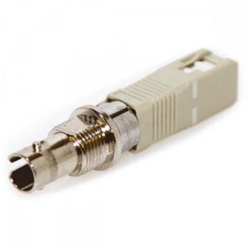 ST Female untuk SC Male Simplex Singlemode Fiber Optic Adapter