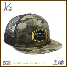 custom arm camo snapback 5 panel camp trucker cap