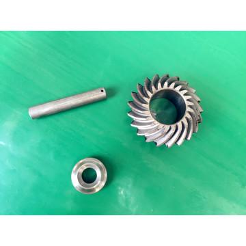 Подвергли механической обработке части нержавеющей стали части для части машины