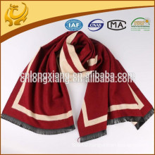 Latest New Fashionable Solid Color 100% Cotton Shawl With Tassel
