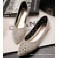 2016 Summer Ladies en gros Chine Flat Shoe Laser Cut Women Casual Flats