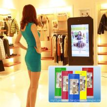 Simple Style 3D Somatosensory Mirror, Advertising Machine